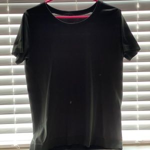 ALL black lululemon shirt